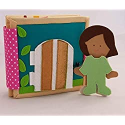 ChubbyCheeks Doll House Quiet Book