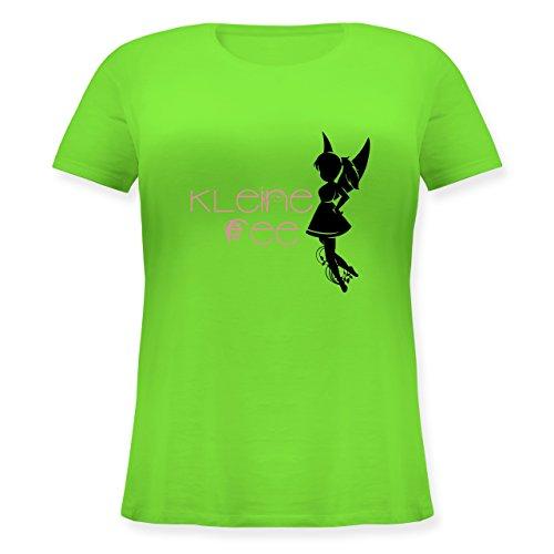 Statement Shirts - Kleine Fee - Lockeres Damen-Shirt in großen Größen mit Rundhalsausschnitt Hellgrün