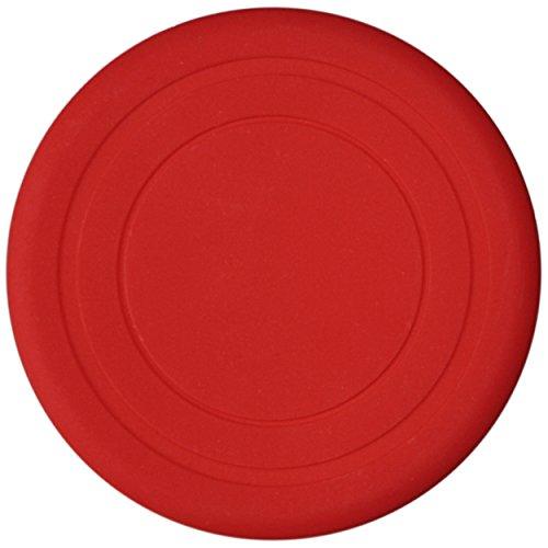 1, 3, 5 oder 15 weiche Hunde Frisbee / Dog Frisbee Disc, 3 Stück, Farbe Rot, Durchmesser ca. 17,5 cm in verschiedenen Farben aus weichem Silikon