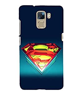 printtech Cool Vector S Logo Back Case Cover for Huawei Honor 7
