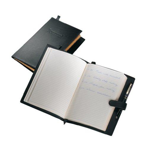 Royce Leather Executive Writing Journal (Executive Journal Black)