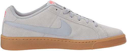 Nike Herren Court Royale Suede Sneaker Grau (Wolf Grey/wolf Grey-solar Red-gum Light Brown)
