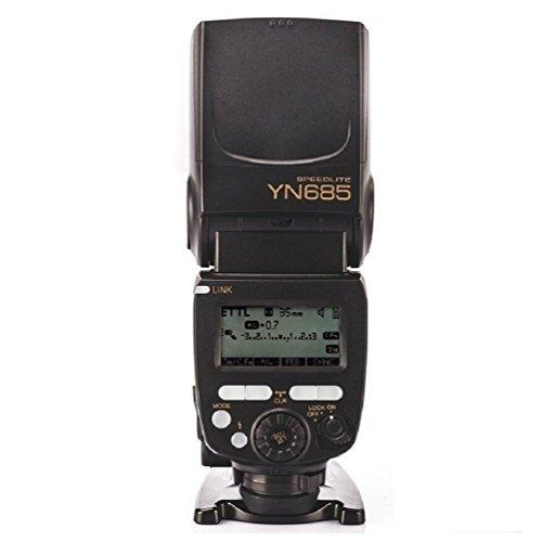 Yongnuo YN685 i-TTL HSS 1 / 8000s GN60 2.4G Wireless Speedlight Blitz Speedlite Blitzgeräte Blitzlampe Blitzleuchte für Nikon D7200 D7100 D7000 D5500 D5300 D5200 D3300 D3200 Yongnuo Flash