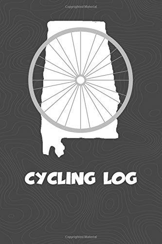 Cycling Log: Alabama Cycling Log for tracking and monitoring your workouts and progress towards your bicycling goals. A great fitness resource for any ... Bicyclists will love this way to track goals! por KwG Creates