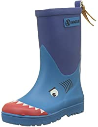 894ca6a9c Aigle Unisex Kids' Woodypop Fun Wellington Boots, Blue (Requin 001), 9