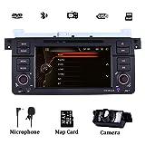 Autoradio stereo per BMW E46 1999-2004 7 pollici Sat Nav con lettore DVD Supporto navigazione GPS HD Touch Screen digitale Controllo del volante Bluetooth 1080P Video
