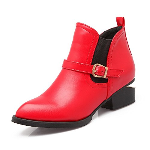 agoolar-womens-low-top-solid-pull-on-pointed-closed-toe-kitten-heels-boots-red-40