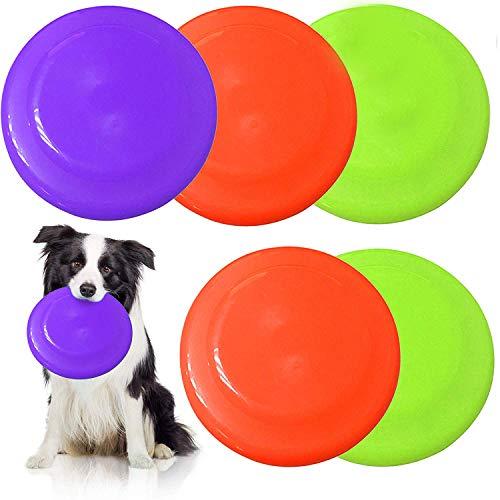 5 Frisbees De Perro, Juguetes para Perros - Colores...