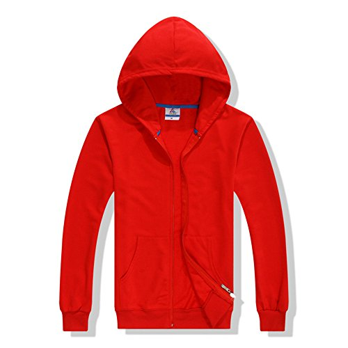 Hippolo - Sweat à capuche - Femme rouge Rot L Rot