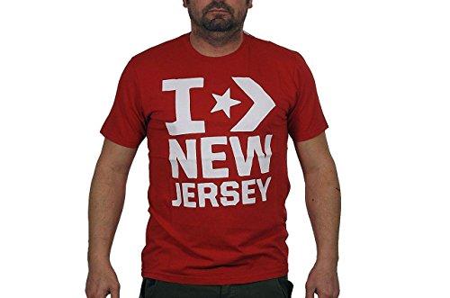 Converse New Jersey T-shirt Neu Gr Xxl Herren Swe. (Jersey Converse T-shirt)