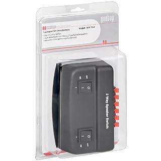 Goobay 50928 Lautsprecher-Umschaltbox
