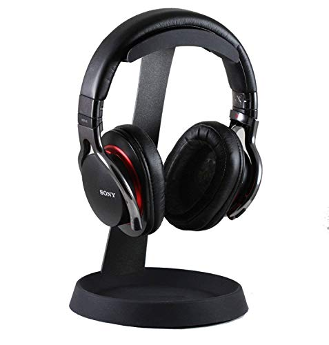 Navitech Acier sur l'oreille et sur Le Support de Support de Casque d'oreille Compatible avec Audio-Technica ATH-DSR7BT Wireless Headphones