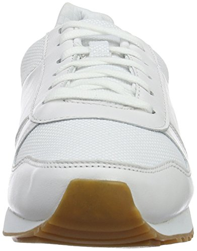 Lacoste 732trm00, Sneakers basses femme blanc (WHT/WHT)