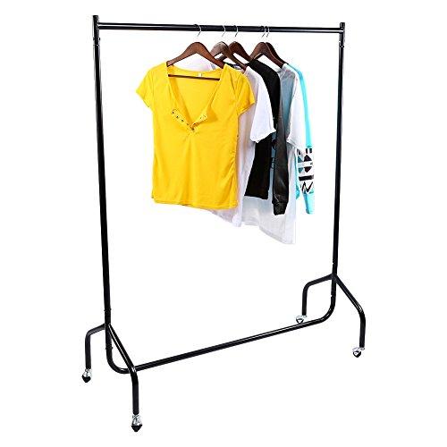 Telescopic Clothes Wardrobe Wardrobe Organiser Movable Clothes Hanging Rail