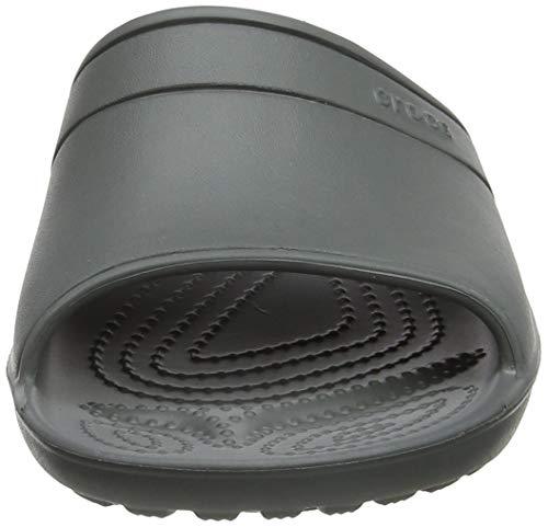 38130539329e37 Crocs Classic Slide Sandals (Slate Grey)
