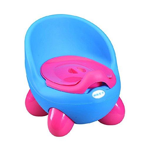 Enfants Toilette- Toilette pour Enfant Extra Large Mâle Bébé Bleu 1-3-6 Ans Toilette Urinoir