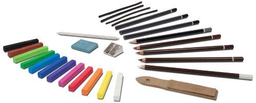 Royal & Langnickel - Corredo da disegno con matite e pastelli - Pastelli Cucire
