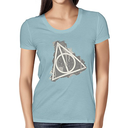 NERDO - Harry\'s Sign Splash - Damen T-Shirt, Größe S, hellblau