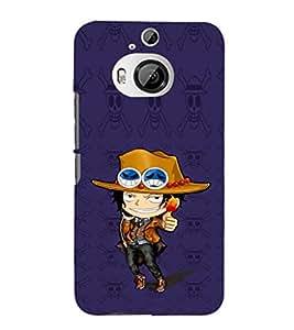 EPICCASE Little Cow Boy Mobile Back Case Cover For HTC One M9 Plus (Designer Case)