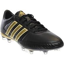 Adidas Performance Gloro 16.1 Fg fútbol Grapa, Negro / blanco / plata metalizado, 4