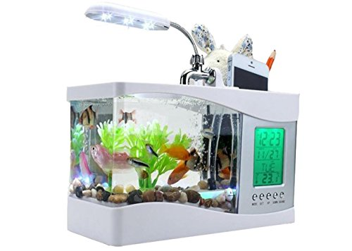 mini-mini-pesce-palla-acquario-fish-tank-usb-con-portapenne-sveglia-e-led-white
