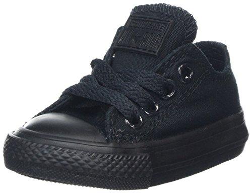 Converse Unisex Baby CT OX Black Mono Hausschuhe, Schwarz Monochrome 006, 21 EU - Ox Black Monochrome