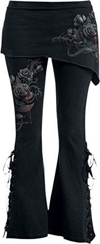 Spiral -  Leggings  - Donna Black Large
