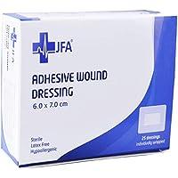 JFA Medical Apósito Adhesivo 60mm x 70mm - Paquete de 25