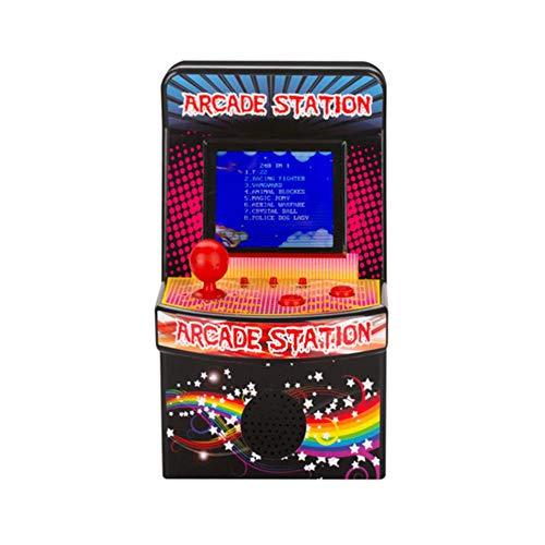 Quiet.T Consola de Juegos electrónica 2.5in Consola portátil Mini Consola de Juegos Retro Consola de Juegos para 16 niños 240 Juegos incorporados (acción/Aventura/Juego de Roles)
