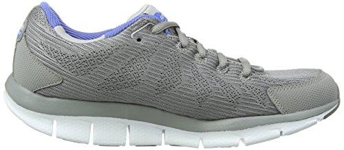 Skechers Liv Go Spacey, Chaussures Multisport Outdoor femme Gris (Gris/bleu)