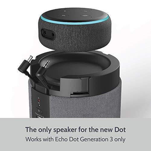 Release ღ Tragbarer Docking-Lautsprecher für Echo Dot 3. Generation