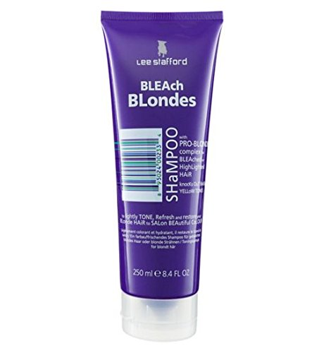 Lee Stafford Bleach Blondes Silver Shampooing 250 ml