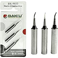 BAKU BK-9033 - Punta de soldador 3 en 1 para estación de soldadura BAKU
