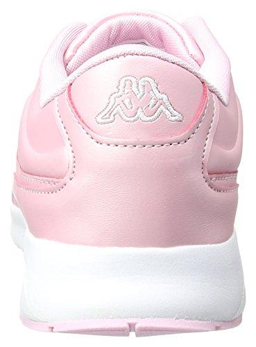 Kappa Milla Shine, Scarpe da Ginnastica Basse Donna Rosa (Rosé/white)