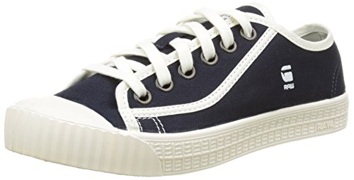 G-Star Damen Rovulc Denim Low Sneakers Sneaker, Blau (Dark Navy 881), 38 EU