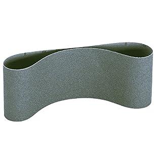 100mm x 915mm P400 silicon carbide abrasive sanding belts for glass, ceramics and plastics. Price per 3 belts.