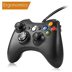 Game Controller, Regemoudal Xbox 360 Wireless Controller für PC Xbox 360 für Windows (Windows 10/8.1/8/7) mit Dual Vibration und ergonomischem Wireless Game Controller