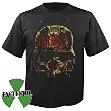 SLAYER, Skull collage Tour 2016 - T-Shirt S