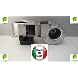 Agripro Trial - VC10- Ventilateur centrifuge 82/85W moteur pour chaudières à granulés et poêles à granulés