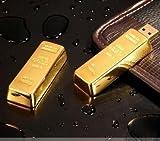 Lingotes de oro lingote de oro 4 GB 2,0 memoria USB Flash Drive, nuevo