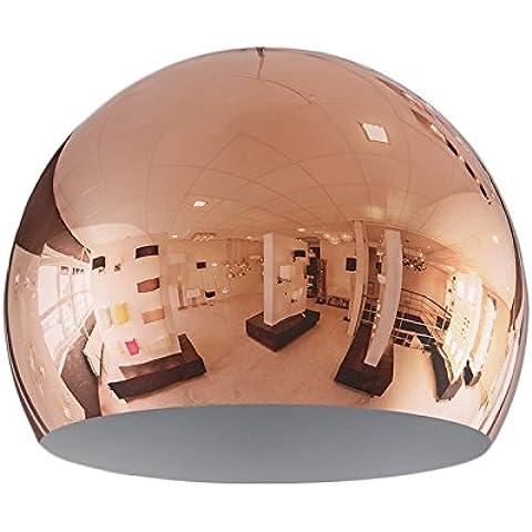 QAZQA Paralume 'Globe 28cm' moderno rame