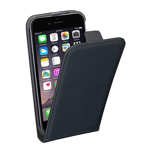 Pedea klassische Flip-Schutzhülle mit Magnetverschluss in schwarz - für Apple iPhone 5/5S/SE