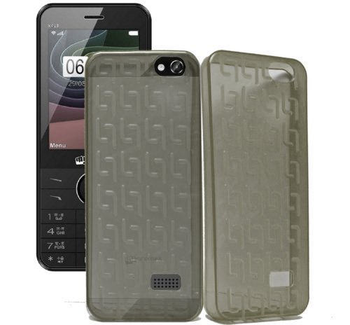 Micromax X913 Case,Grey Soft ,Lightweight,Shock Absorbing Tpu Back Case Cover Micromax X913  available at amazon for Rs.145