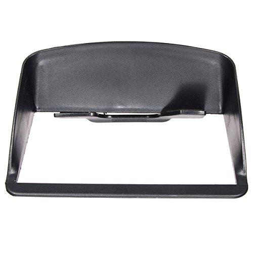 JenNiFer Universal Anti Glare Screen Sun Shield Visier Kapuze Für 7 Zoll Auto GPS-Navigation (7 Zoll Bildschirm Visier)