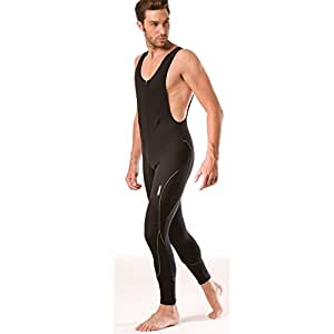 Santini Windstopper Bib Tight Black Medium