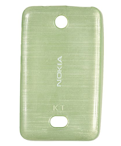 iCandy Soft TPU Shiny Back Cover For Nokia Asha 501 - Green  available at amazon for Rs.109