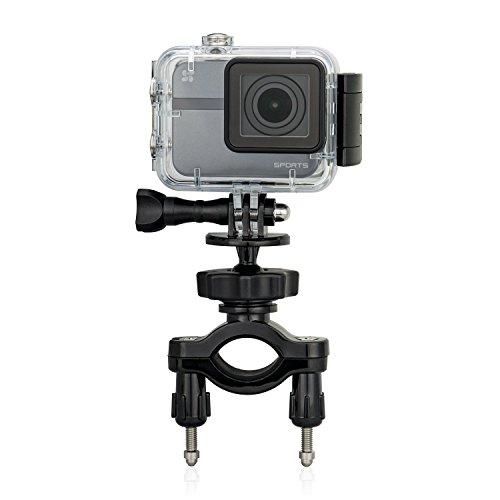 EZVIZ Lenkerhalterung, EZVIZ Sportkamera-Zubehör, am Motorrad angebracht, Stoßverbindungen für reine Kamera oder mit wasserdichtem Gehäuse, feste Aufzeichnung
