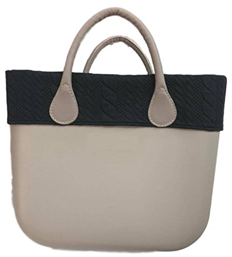 Trim Bordüre BLACK BRAIDS - für O Bag Classic
