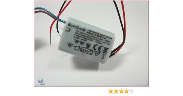 Rond DEL transformateur avec 350 mA Constant Courant 22-36 V 8-12 W Bloc d/'alimentation unterputzdose