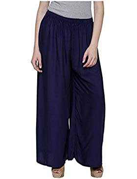 Indian Handicrfats Export Meoby Relaxed Women Dark Blue Trousers